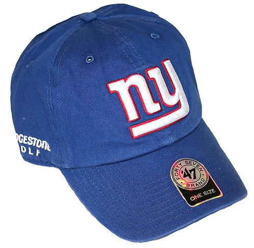 Bridgestone Golf '47 NFL Adjustable Cap Hat, New York Giants