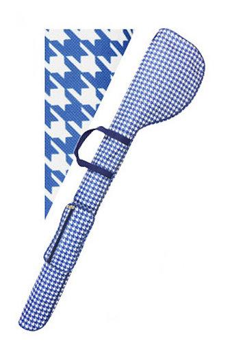 Azrof Collapsible Club Case Golf Range Bag, Blue Chidori
