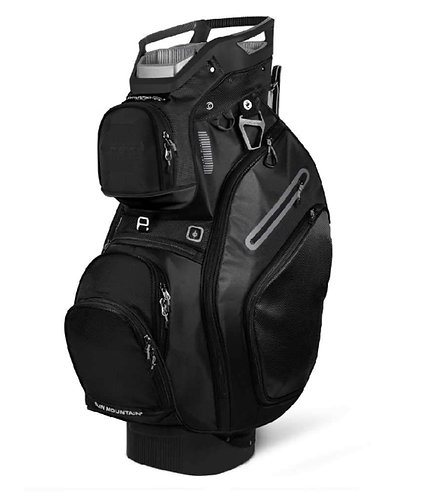 Sun Mountain Sports 2019 C-130 Cart Bag, Men's, Black