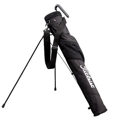 Titleist Half-Set Club Case Caddie Golf Stand Bag, Black