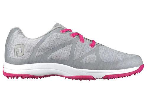 FootJoy Women's FJ Leisure Golf Shoes, Light Grey
