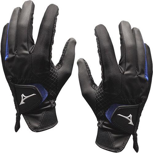 Mizuno RainFit Elite Synthetic Gloves, Pair, Black