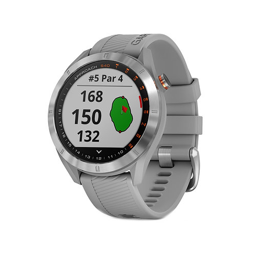 Garmin Approach S40 GPS Golf Watch, Gray