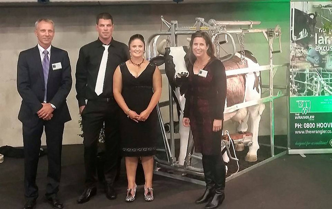 Southland/Otato Dairy Industry Awards Winners