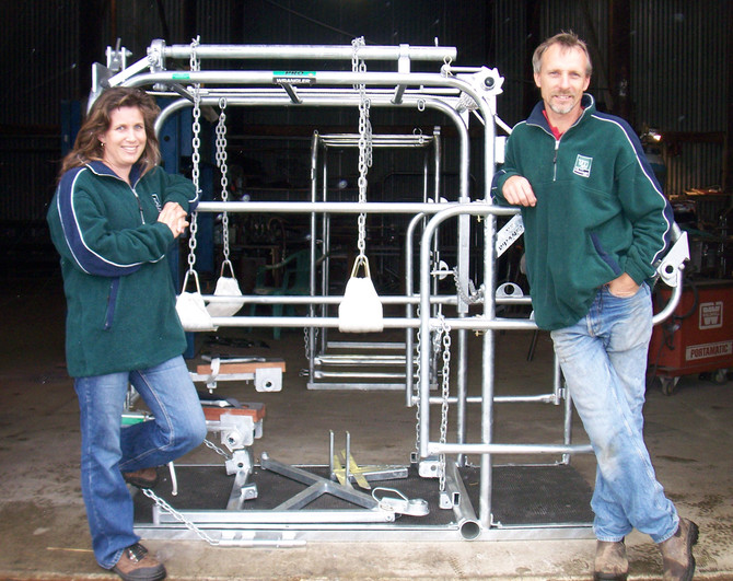 'Cow restraints' an innovative endeavour