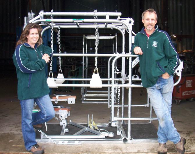 'Cow restraints' an innovative endeavour