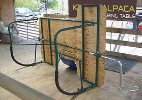 Kiwick Alpaca Shearing Table rear view