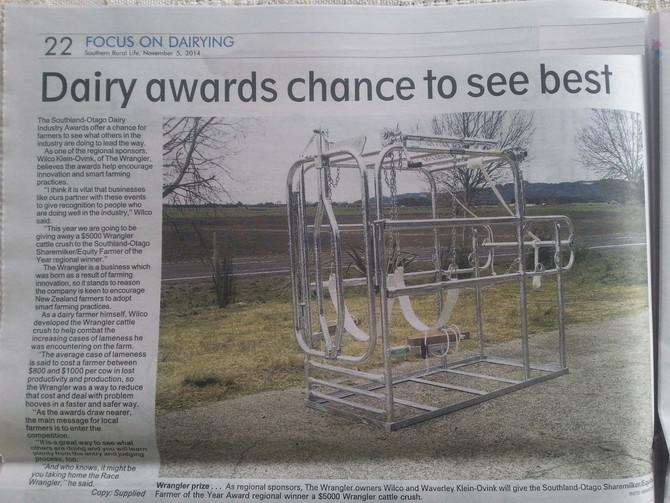 Dairy awards chance to see best