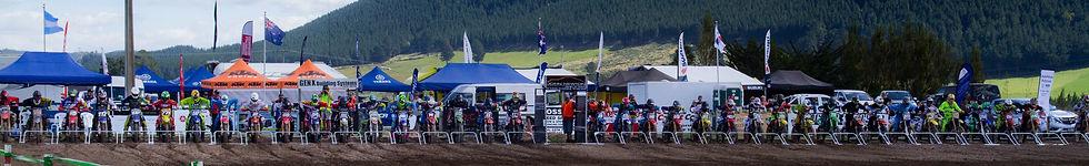 Nationals at Rotorua using Wrangler MX Start Gates
