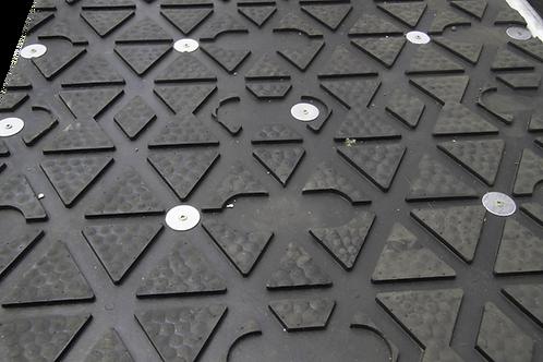 Diamond Grip Rubber Mat