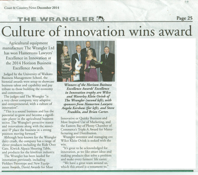 Culture of innovation wins award