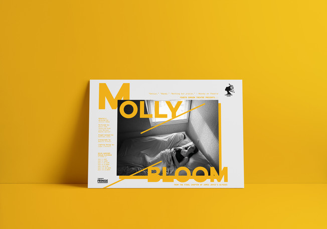 Play Poster - Molly Bloom