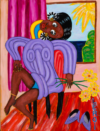 LEROI_All Dressed Up and Nowhere to Go_2007_Oil and acrylic on canvas_40x30 inches_$4,500.jpg