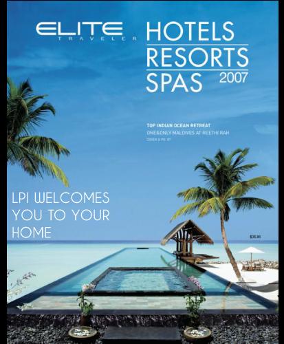 Press - Cover of Elite Magazine