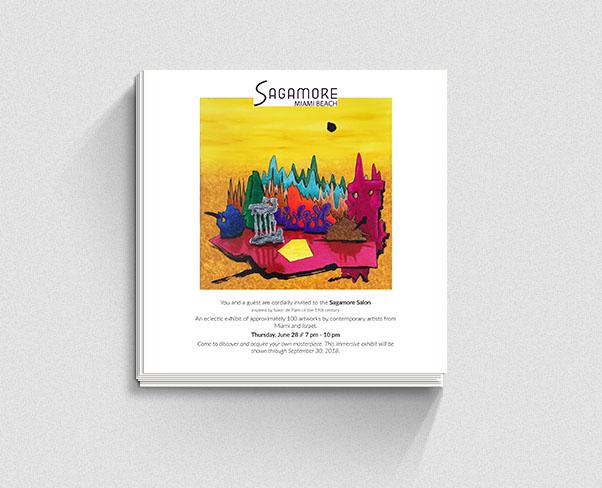 Invite Design Sagamore Exhibit