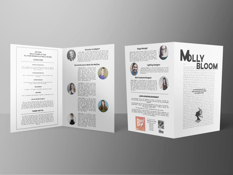 Molly Bloom Show Program