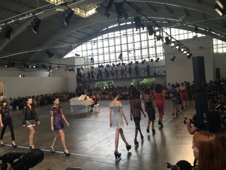 Fashion show Lethicia Bronstein for Riachuelo SPFW 2015