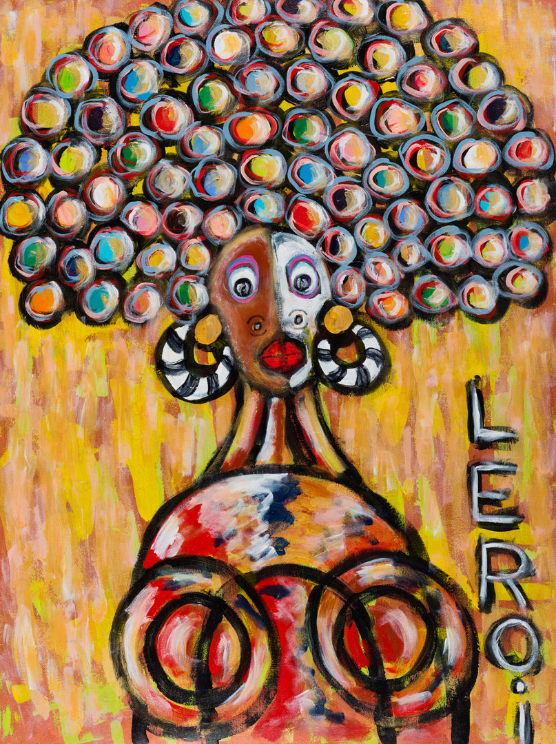 LEROI_Bubble Head 1_2008_Oil and acrylic on canvas_40x30 inches_$4,500.jpg