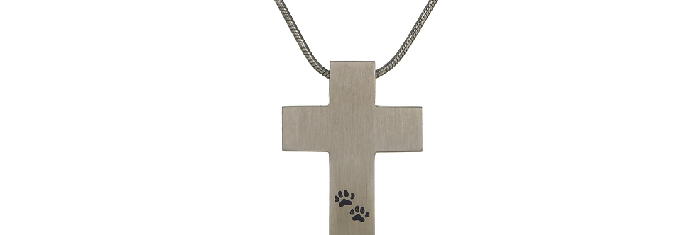 Cross with Pawprints