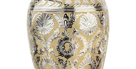 Silver Gold Dynasty Urn