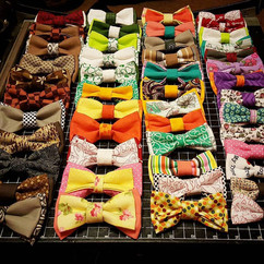 """custom one of a kind """"mix and match"""" hair bows and bowties"""