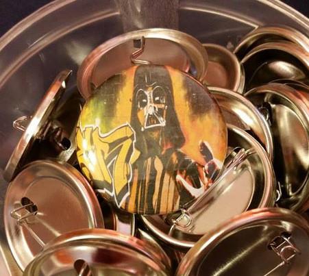 original photograph by melissamarieimagery.com put onto pinback