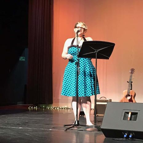 Performing at The Boulton Center Bay Shore