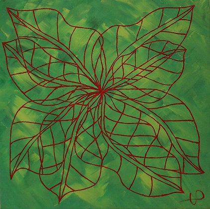"VP ART painting ""Green"""
