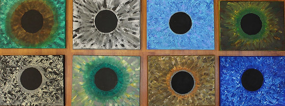 "VP ART painting ""Windows to souls"""