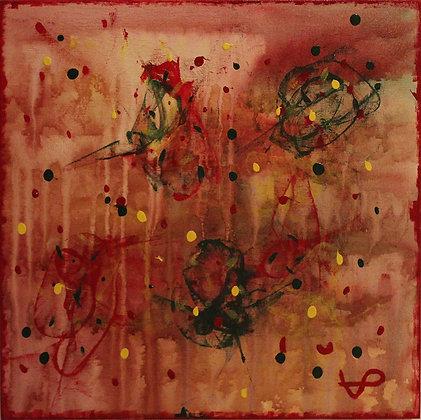 "VP ART painting ""Madness"""