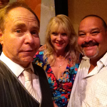 Teller, Laura (my wife) and I.