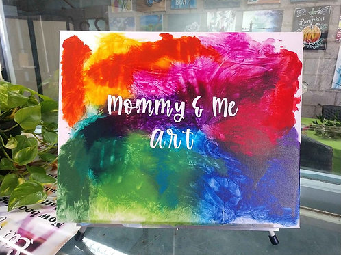 A Mess-less Mommy & Me Project Kit