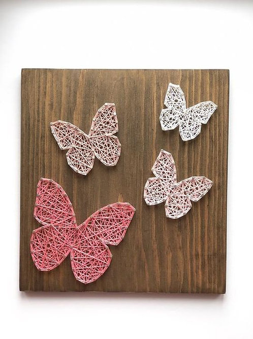 String Art Butterflies
