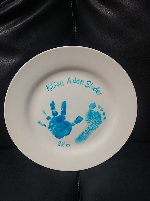 Hand-print Plate Kit