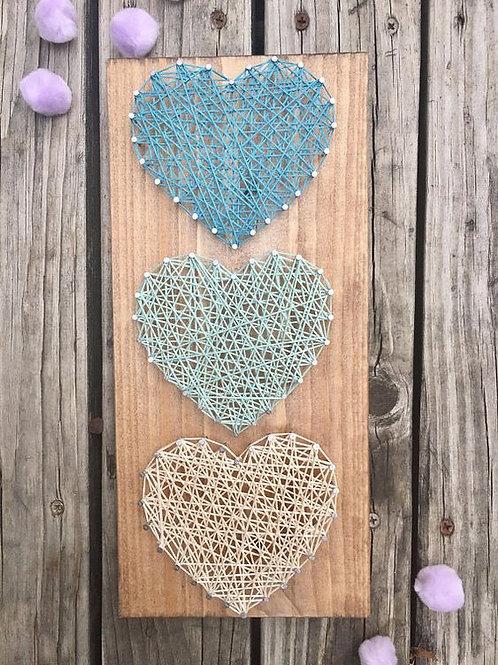 String Art Hearts Kit