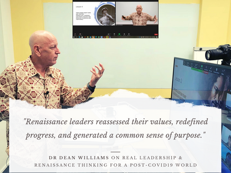 Leadership lessons from the Renaissance with Dean Williams