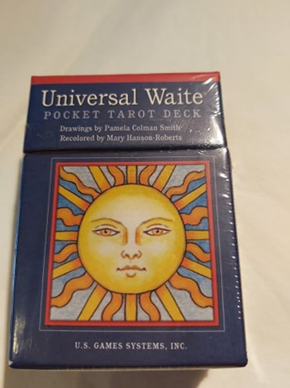 Tarot Universal Waite Pocket Deck