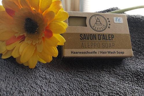 Shampoing solide au savon d'Alep - 8% Huile de laurier