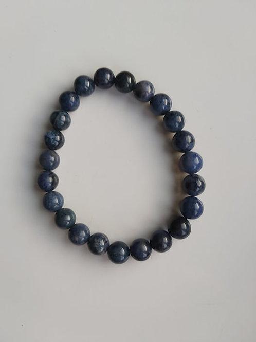 Bracelet Dumortiérite