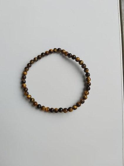 Bracelet Oeil-de-tigre - Diamètre 4 mm