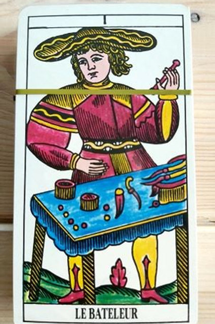 Tarot de Marseille Claude Burdel