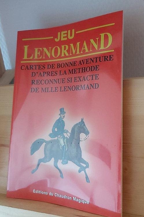 Jeu Lenormand - Cartes de bonne aventure d'après le méthode reconnue ...