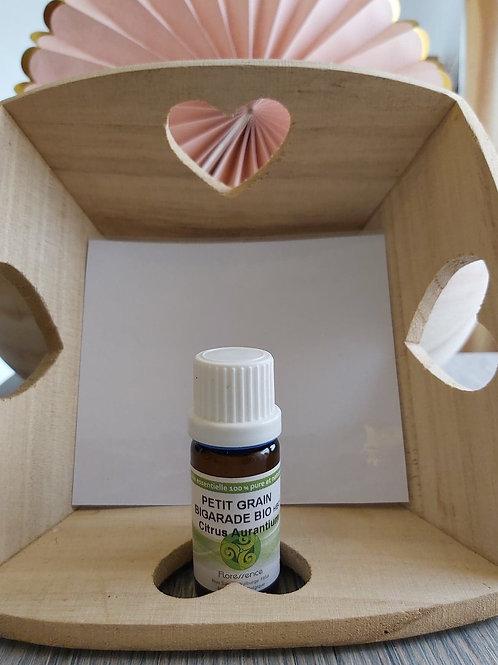 Huile essentielle de Petit grain Bigarade BIO 10 ml