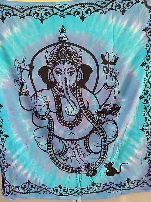 Tissu Ganesh multicolor 100% coton