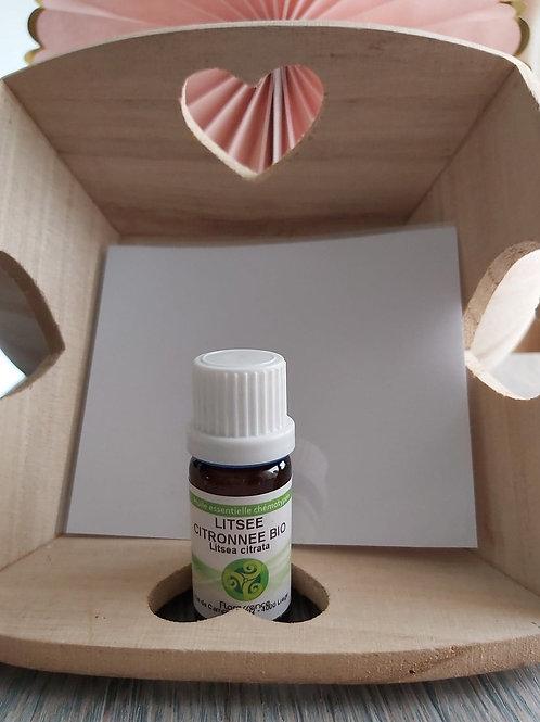 Huile essentielle de Litsée citronnée BIO 10 ml