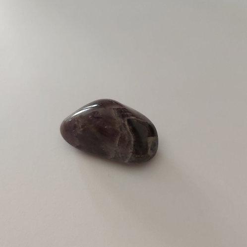 Améthyste pierre roulée