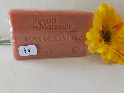 Savon de Marseille au Bois de santal 100 g