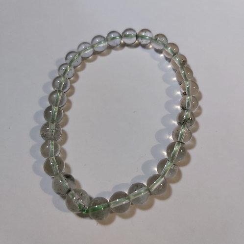 Bracelet en quartz fantôme