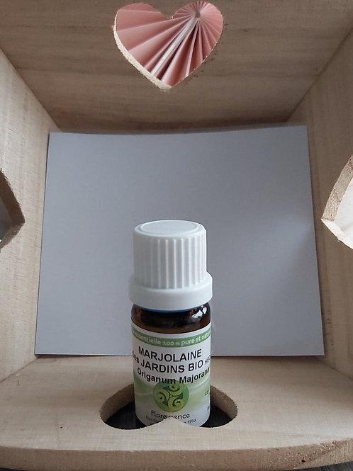 Huile essentielle de Marjolaine des jardins BIO 10 ml