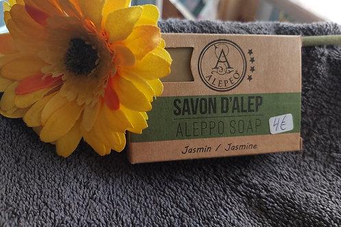 Savon d'Alep (8% en huile de laurier ) au Jasmin